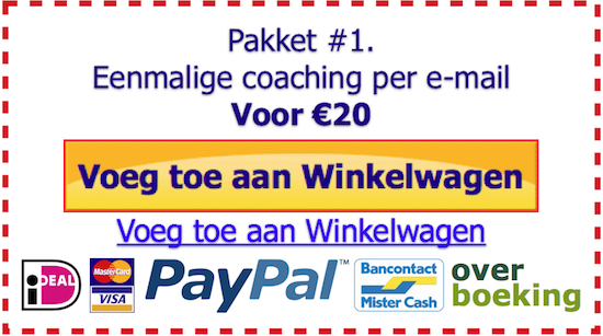 Coaching-per-e-mail-eenmalig